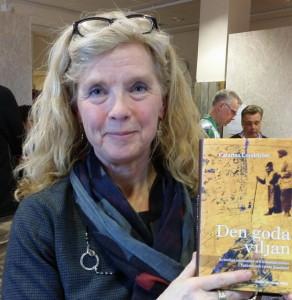 Catarina Lundström har forskat i arkiven och skrivit boken Den goda viljan. Foto: Birger Ekerlid