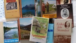 Karl Andersson skrev ett stort antal böcker med motiv från fjällvärlden i södra Lappland och Jämtland.