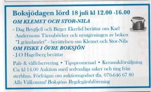 Boksjödagen 20150718