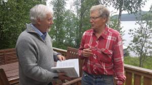 Dag i samspråk med Per Johans Gustafsson, Boksjön, om bokens bilder och innehåll.