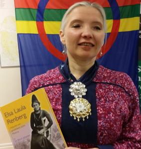 Siri Broch Johansen har skrivit en bok om Elsa Laula - en samepolitisk ikon.
