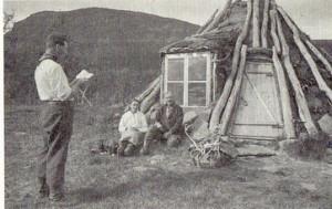 Karl A Barruks kåta (Ur Pionjär...)72