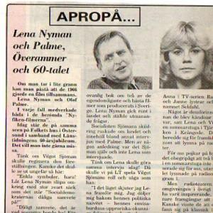 Palme Lena Nyman